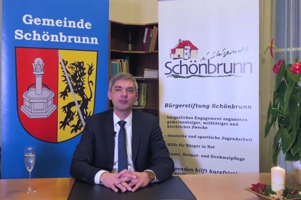Neujahrsanpsrache 1. Bürgermeister Friesen