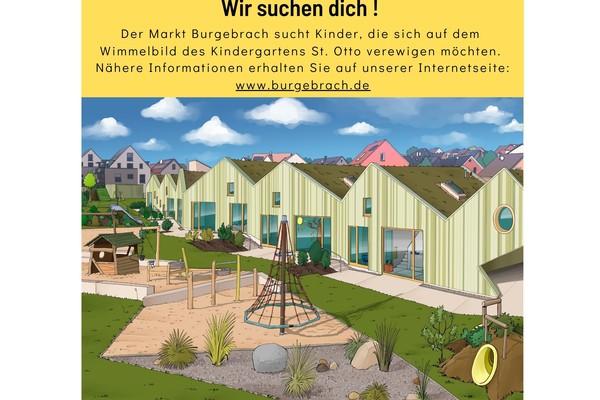 Sei auch du ein Teil unseres Burgebracher Wimmelbuchs
